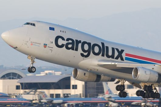 Boeing 747: Cargolux in LAX