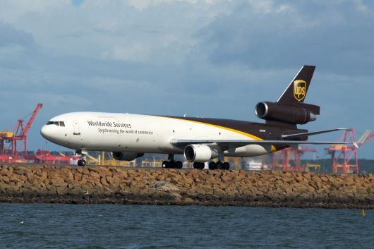 UPS MD-11F  (N295UP) am Sydney Airport