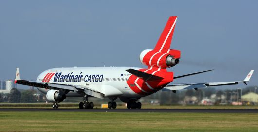 Martinair MD-11F in AMS