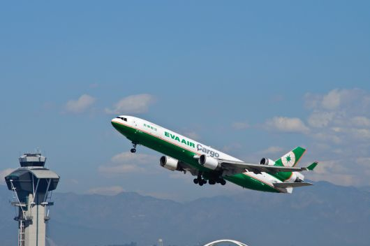 EVA Air Cargo in LAX