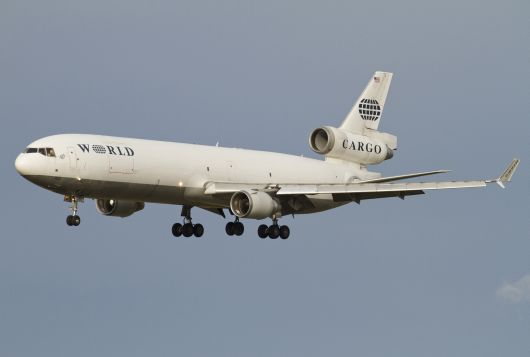 World Airways MD-11 N380WA kommt in STO an