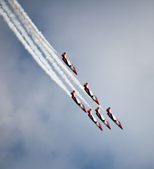 Airpower 2013: Patrulla Aguila